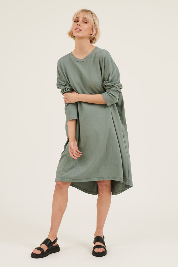 KIKI DRESS - SEA GREEN
