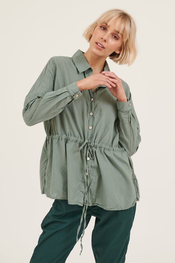 BENNA SHIRT - SEA GREEN (PRE-ORDER)