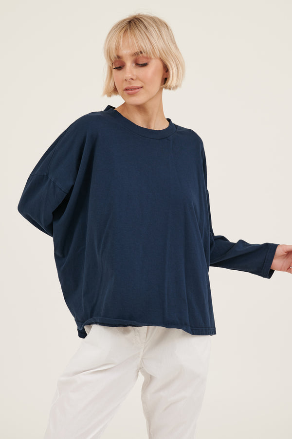 KIKI TOP - DARK NAVY