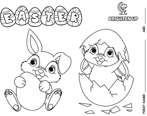 Complete Our Easter Colouring Contest - and Follow Us On Facebook for Daily Activities and Conversation