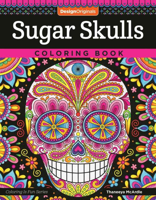 Sugar Skulls Colouring