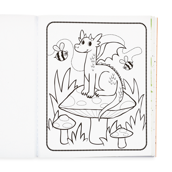 Colour-in' Book