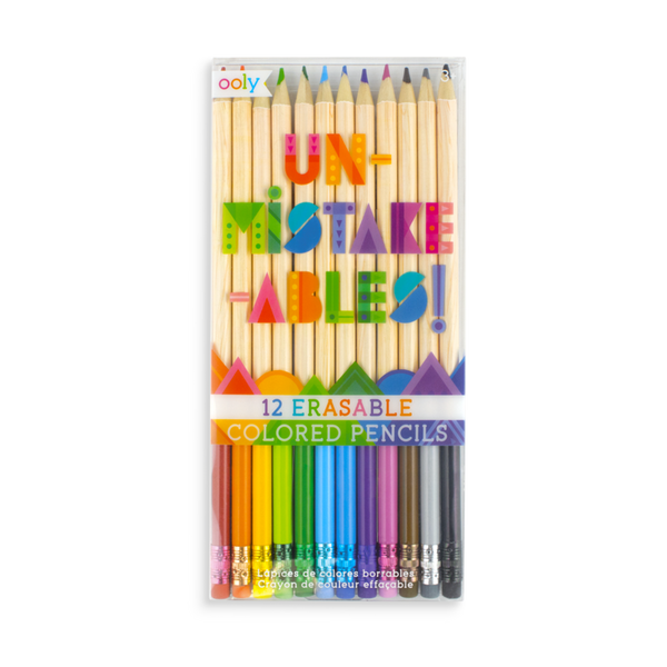 Erasable Coloured Pencils (set of 12)
