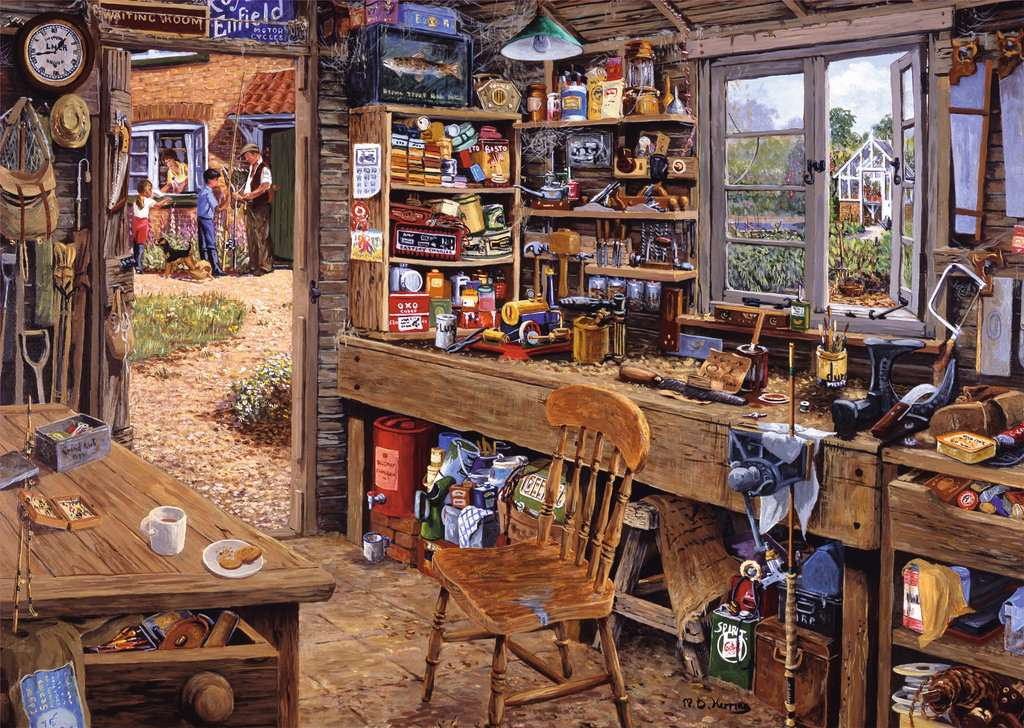 Dad's Shed (500 piece)