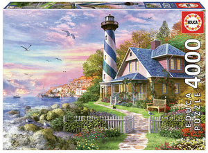 Lighthouse at Rock Bay (4000pc)
