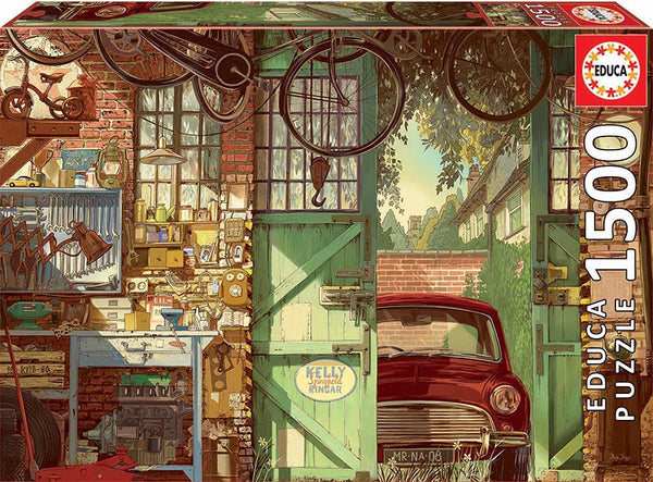 Old Garage, Arly Jones (1500pc)