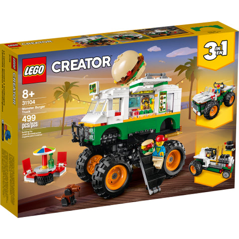 Monster Burger Truck (31104)