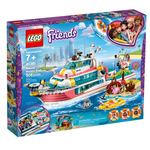 Rescue Mission Boat (41381)