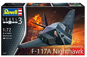 F-117A Nighthawk Stealth Fighter (1/72)
