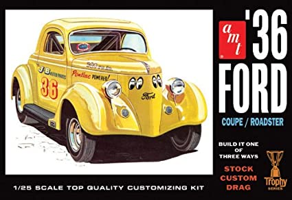 1936 Ford Coupe/Roadster (1/25)