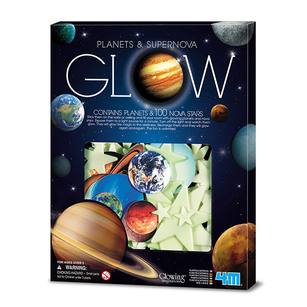 4M Glow Planets and Stars