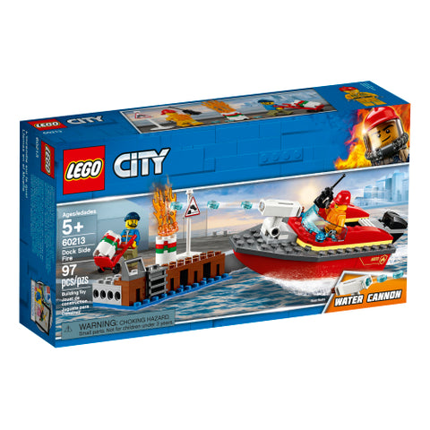 Dock Side Fire (60213)
