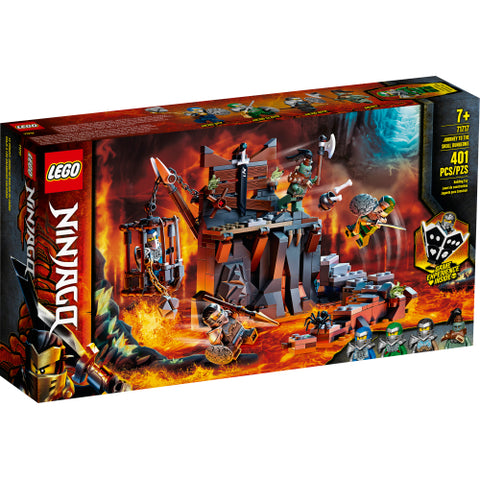 Journey to the Skull Dungeons (71717)
