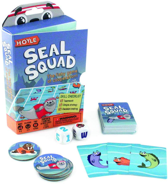 Seal Squad Cooperation Card Game (by Hoyle)
