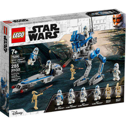 501st Legion Clone Troopers (75280)