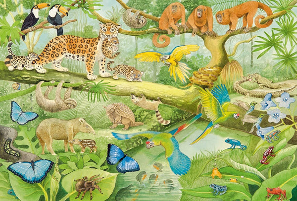Animals in the Jungle (100pc)