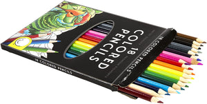 Coloured Pencils (18 pk by Mindware)