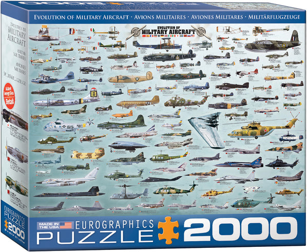 Evolution of Military Aircraft (2000pc)