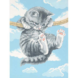 Paintworks PBN Hang on Kitty