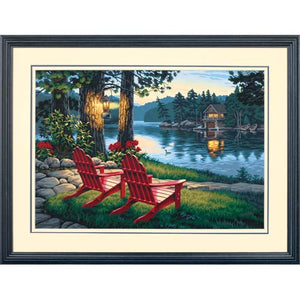 Paintworks PBN Adirondack Evening