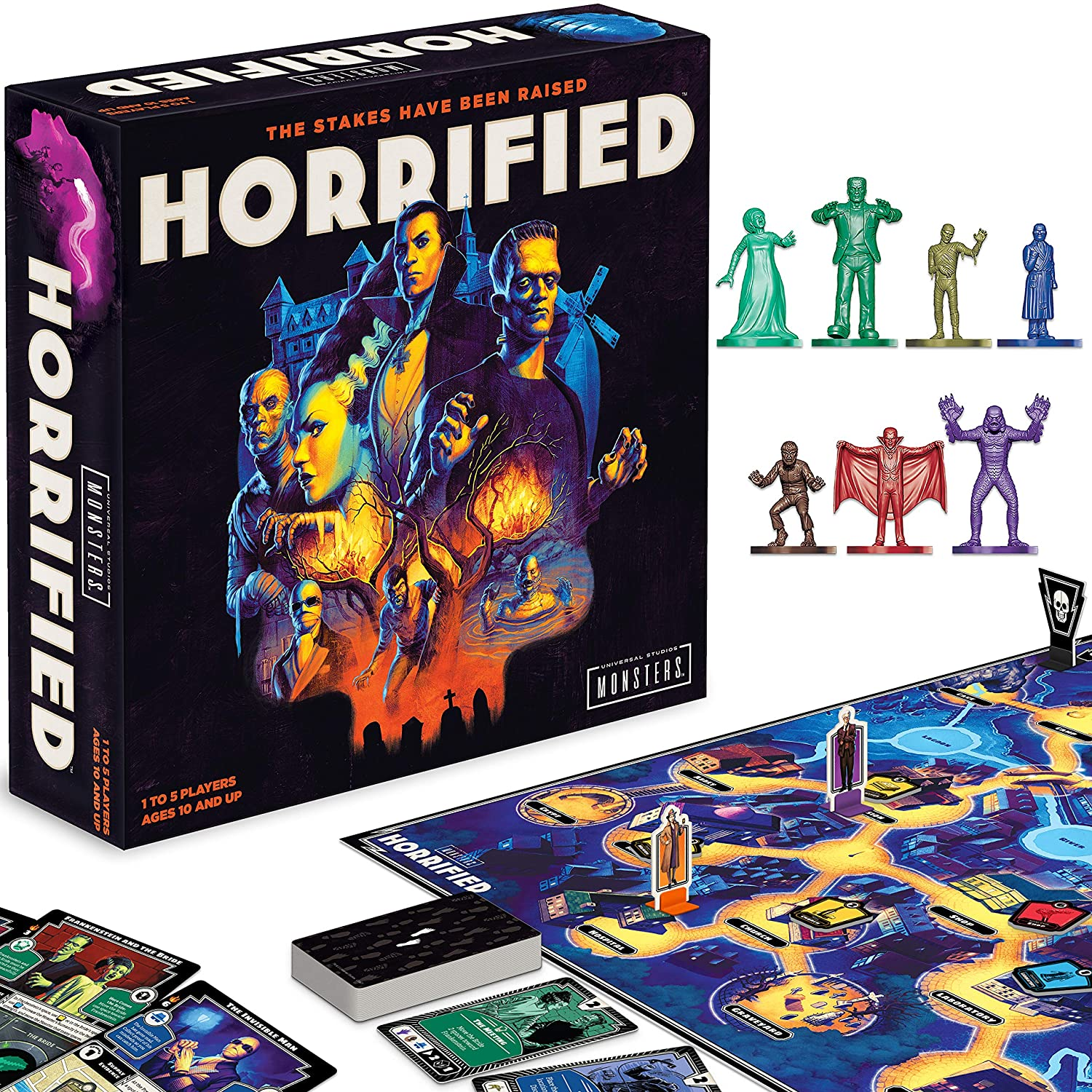 Horrified: Universal Monsters Strategy Game