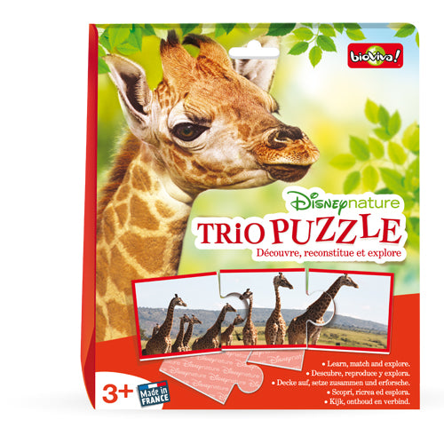 Disney Nature: Trio Puzzle