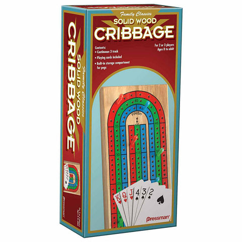 Folding Cribbage (with Cards)