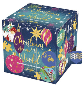 Christmas Around the World - Puzzle Advent Calendar