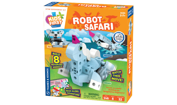 Kid's First Robot Safari