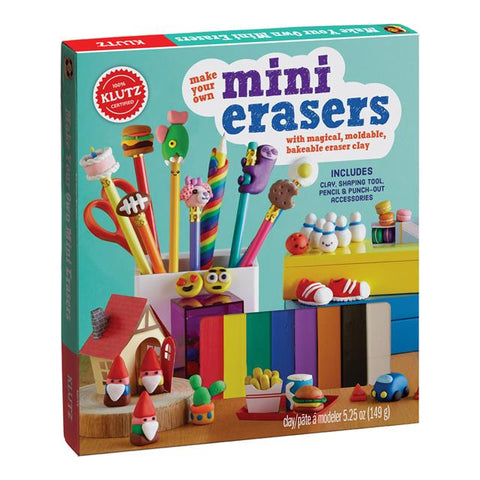 Make-Your-Own Mini Erasers