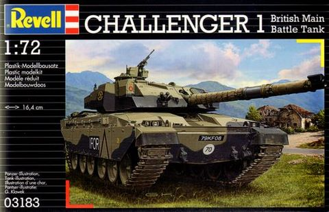 Challenger 1 British Main Battle Tank (1/72)