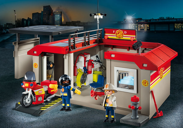 Take Along Fire Station