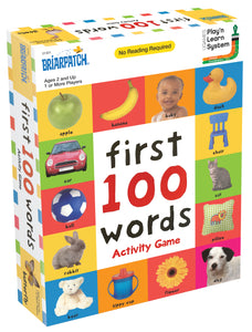 My First 100 Words Activity Game