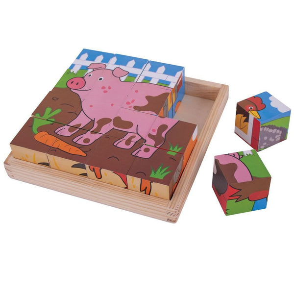 Cube Wooden Puzzle