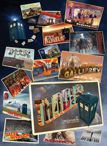 Doctor Who: Postcards from the Edge of Space and Time