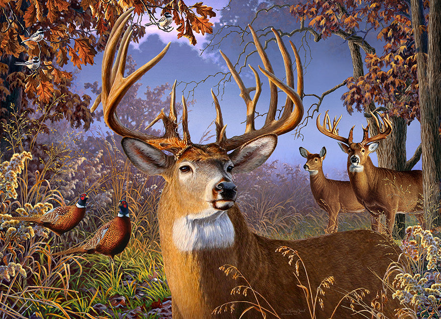 Deer and Pheasant