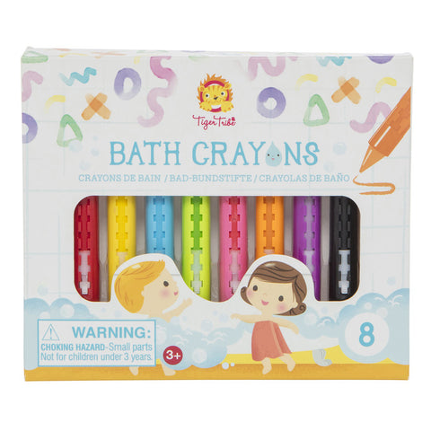 Bath Crayons (8pc, Tiger Tribe)