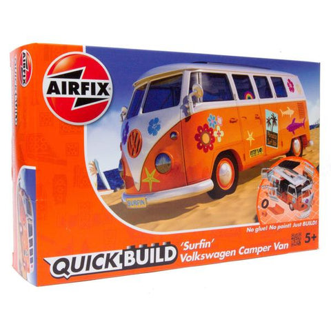 'Surfin' VW Camper Van (Quick Build)
