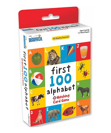 First 100 Matching Card Games