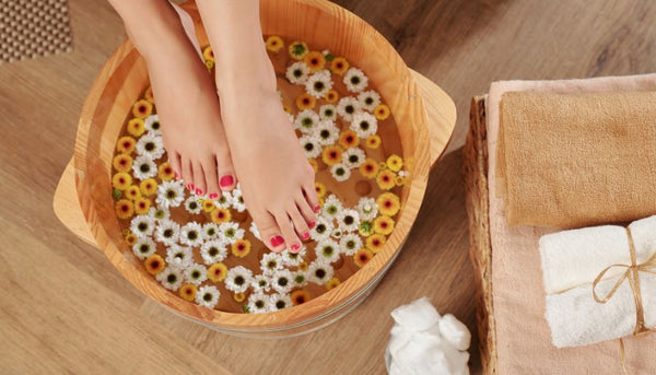 include warm water for foot