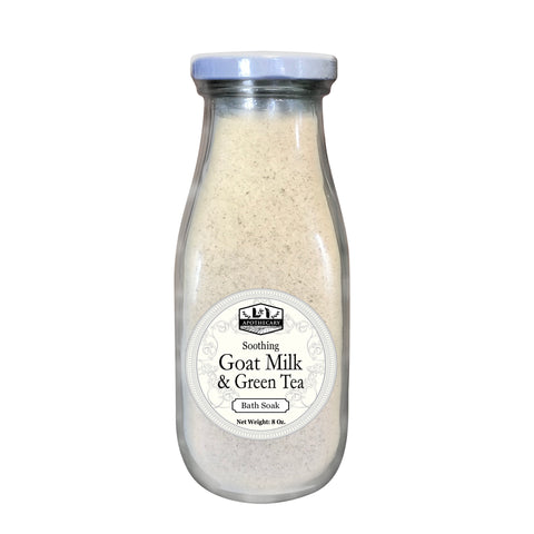 Organic Goat Milk & Green Tea Bath Soak