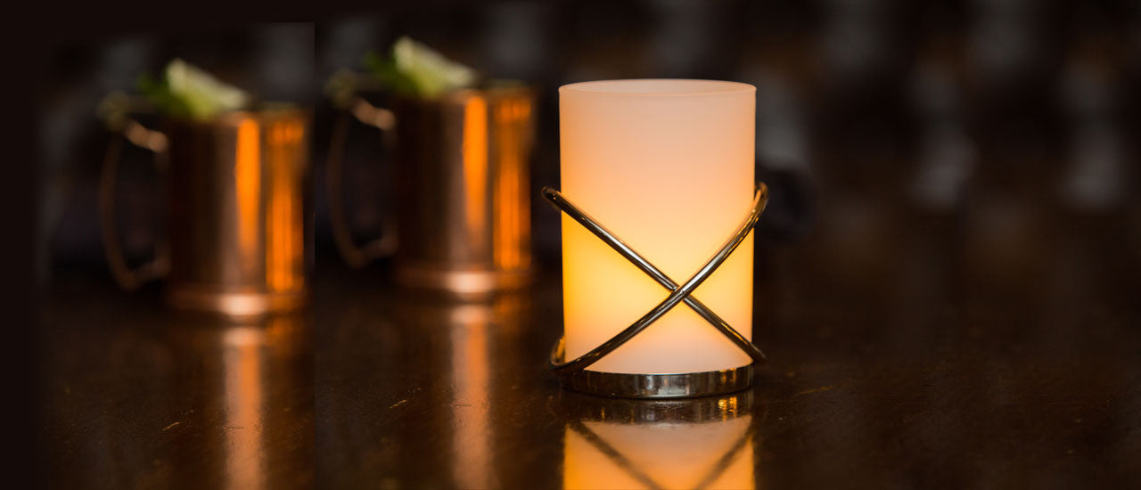 Flameless Candle Holders & Lamps