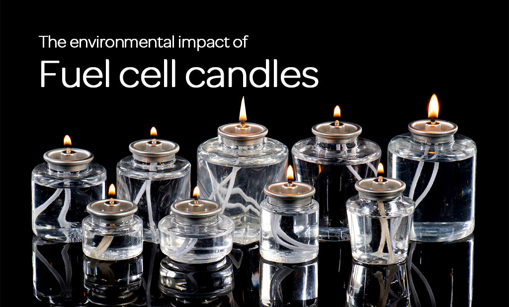 The environmental impact of fuel cell candle use in the hospitality industry