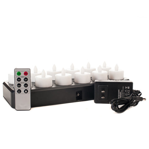 Café Series Rechargable Tea Light Set