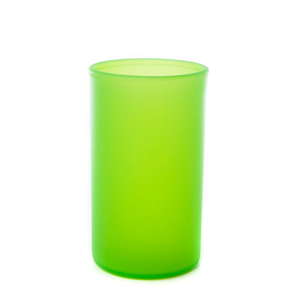 "Small (3.5"") Frosted Acrylic Cylinder Candle Holder (Case of 6) - The Amazing Flameless Candle"