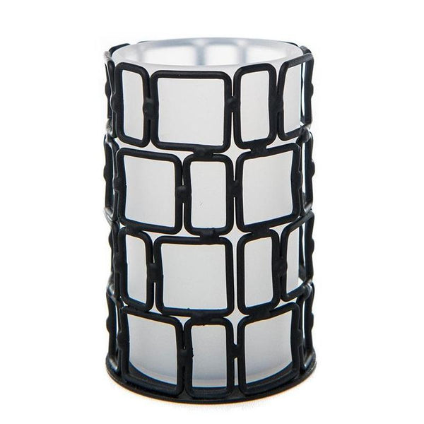 Grid Iron Acrylic Tea Light Holder - The Amazing Flameless Candle