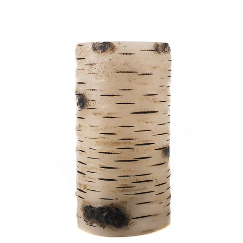 Birch Bark Wax Luminaries