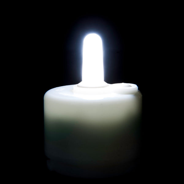 Performance Series Cool White Rechargeable Candle-Legacy Product Closeout - The Amazing Flameless Candle