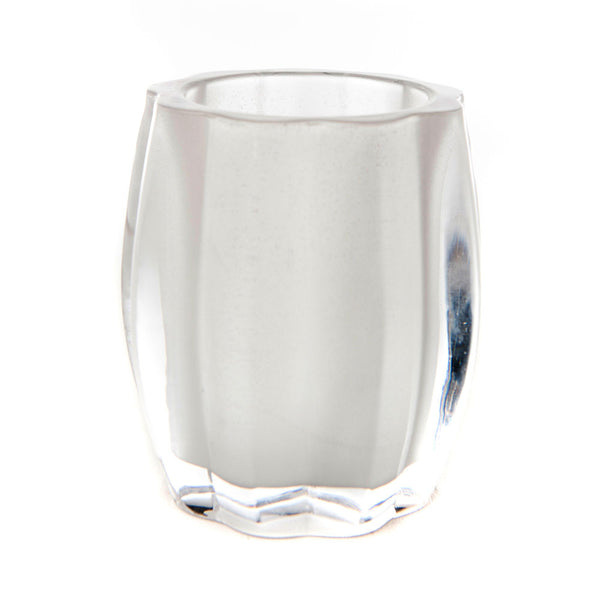 Waves Glass Candle Holder (Case of 6) - The Amazing Flameless Candle