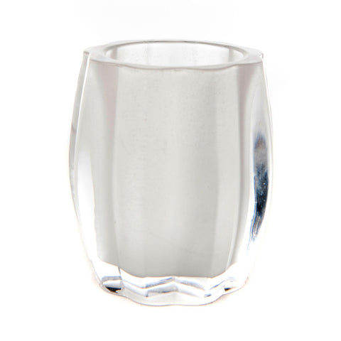 Waves Glass Candle Holder (Case of 6)